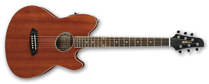 Ibanez TCY12E OPN Talman Acoustic Guitar Open Pore Natural