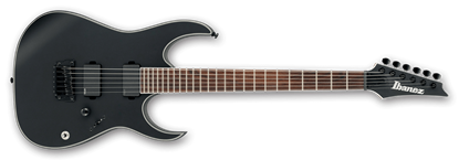 Ibanez RGIR30BFE Iron Label Electric Guitar Black Flat
