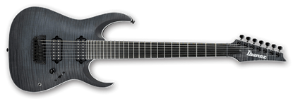 Ibanez RGAIX7FM TGF Iron Label 7-String Electric Guitar Tran. Gray Flat