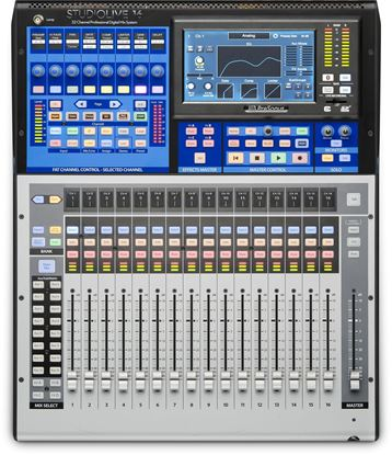PreSonus StudioLive 16 Digital Mixing Console - 16 Channel w Motorised Faders