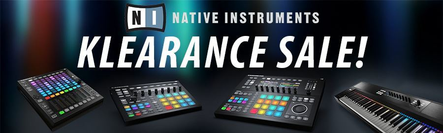 Native Instruments Klearance Sale