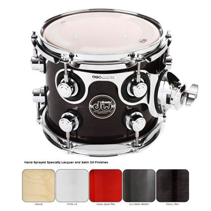 DW Performance Lacquered Series Tom (Single Tom Tom - Select Colour and Size)