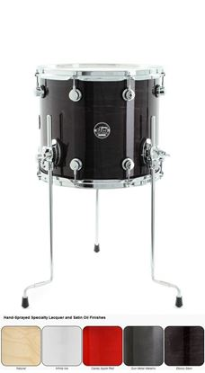 DW Performance Lacquered Series Floor Tom (Single Floor Tom - Select Colour and Size)