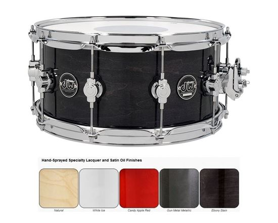 dw performance lacquered series snare drum single snares select colour and size perth. Black Bedroom Furniture Sets. Home Design Ideas