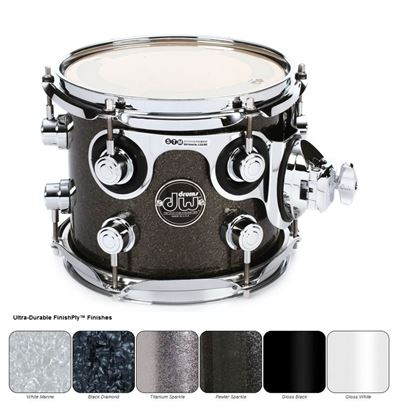 DW Performance Finish Ply Series Tom (Single Tom Tom - Select Colour and Size)