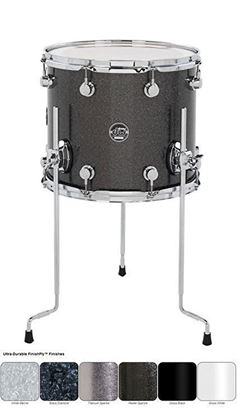 DW Performance Finish Ply Series Floor Tom (Single Floor Tom - Select Colour and Size)