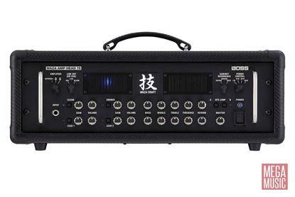 Boss Waza Amplifier Head 75 Guitar Amplifier WAZAHD75 - front view