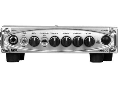 Gallien Krueger MB-200 200w Ultra Light Bass Amplifier Head