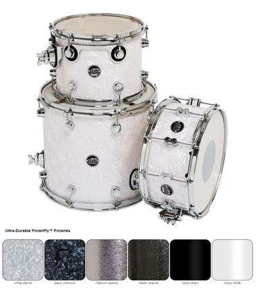 DW Performance Finish Ply Series Tom/Snare 3 Pack (Drums Shell Pack)