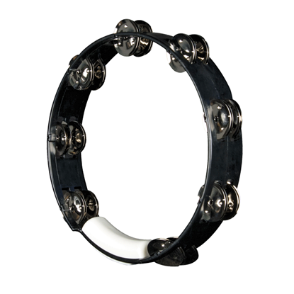 Rhythm Tech True Colours Tambourine Black