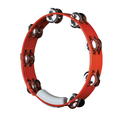 Rhythm Tech True Colours Tambourine Red