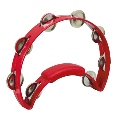 Rhythm Tech Solo Tambourine Red