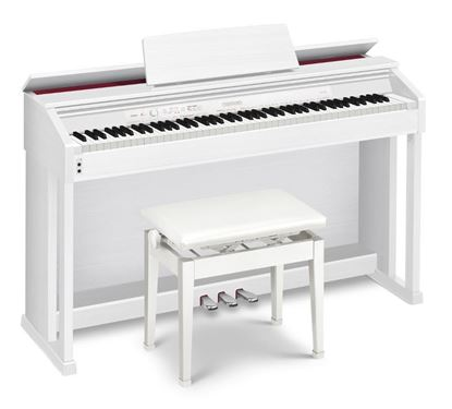 Casio AP-460 Celviano Digital Piano, White with Seat (AP460)