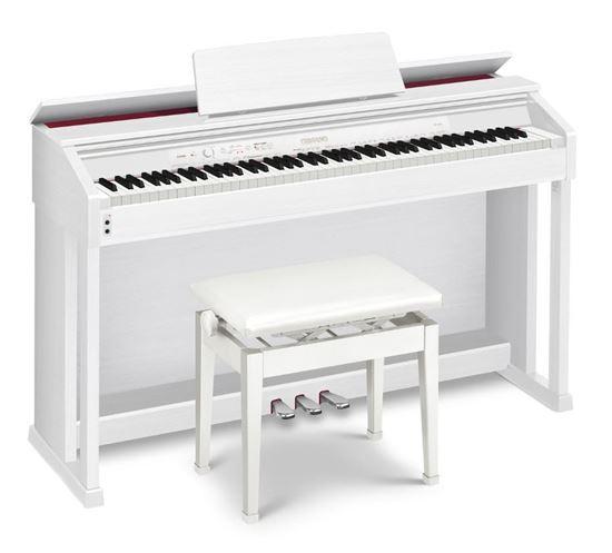 casio ap 460 celviano digital piano white with seat ap460 perth mega music online. Black Bedroom Furniture Sets. Home Design Ideas