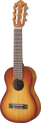 Yamaha GL1TBS Acoustic Guitalele Short Scale Guitar-Ukulele Tobacco Brown Sunburst