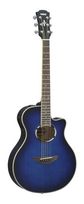 Yamaha APX500IIIOBB Acoustic Electric Guitar Oriental Blue Burst