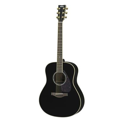 Yamaha LL6-BL//ARE Acoustic Guitar Black