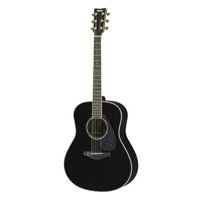 Yamaha LL16D-BL//ARE Acoustic Guitar Black