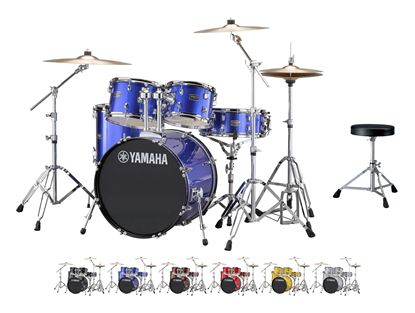 Yamaha Rydeen Fusion Drum Kit - Fine Blue