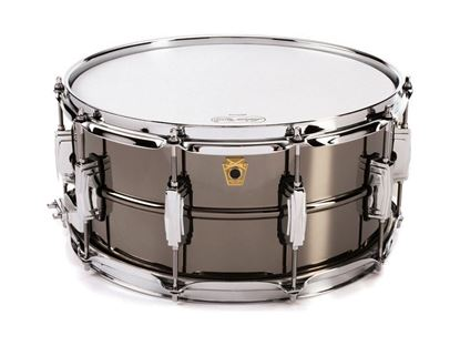Ludwig 14 x 6.5 inch Black Beauty Snare Drum Smooth Shell with Imperial Lugs