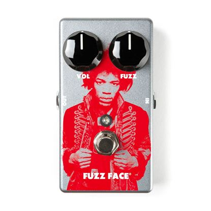 Jim Dunlop Jimi Hendrix Fuzz Face Distortion Guitar Effects Pedal