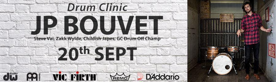 JP Bouvet Drum Clinic