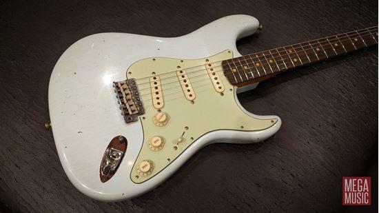 fender custom shop 1963 stratocaster journeyman relic electric guitar faded sonic blue perth. Black Bedroom Furniture Sets. Home Design Ideas