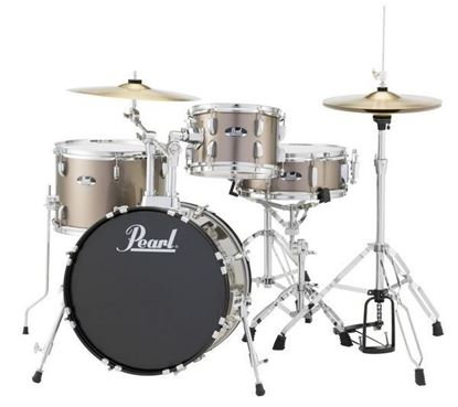Pearl Roadshow RS584CC 4 Piece 18 Inch Gig Drum Kit Complete (Select Colour)