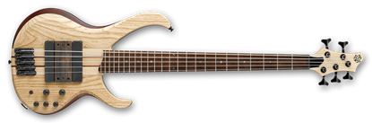 Ibanez BTB33 Bass Guitar Natural Flat Finish (5-String) *1 ONLY in store with FREE CASE!*