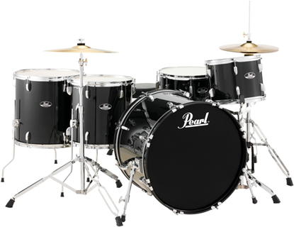 Pearl Roadshow RS525WFCC 5 Piece 22 Inch Rock Plus Drum Kit Complete (Select Colour)