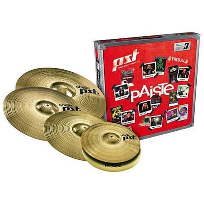 Paiste PST-3 Universal Bonus Cymbal Pack (14, 16, 18 & 20 Inch Cymbals)
