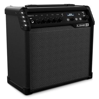 Line 6 Spider V 30 Guitar Amplifier Combo - Front Controls shown
