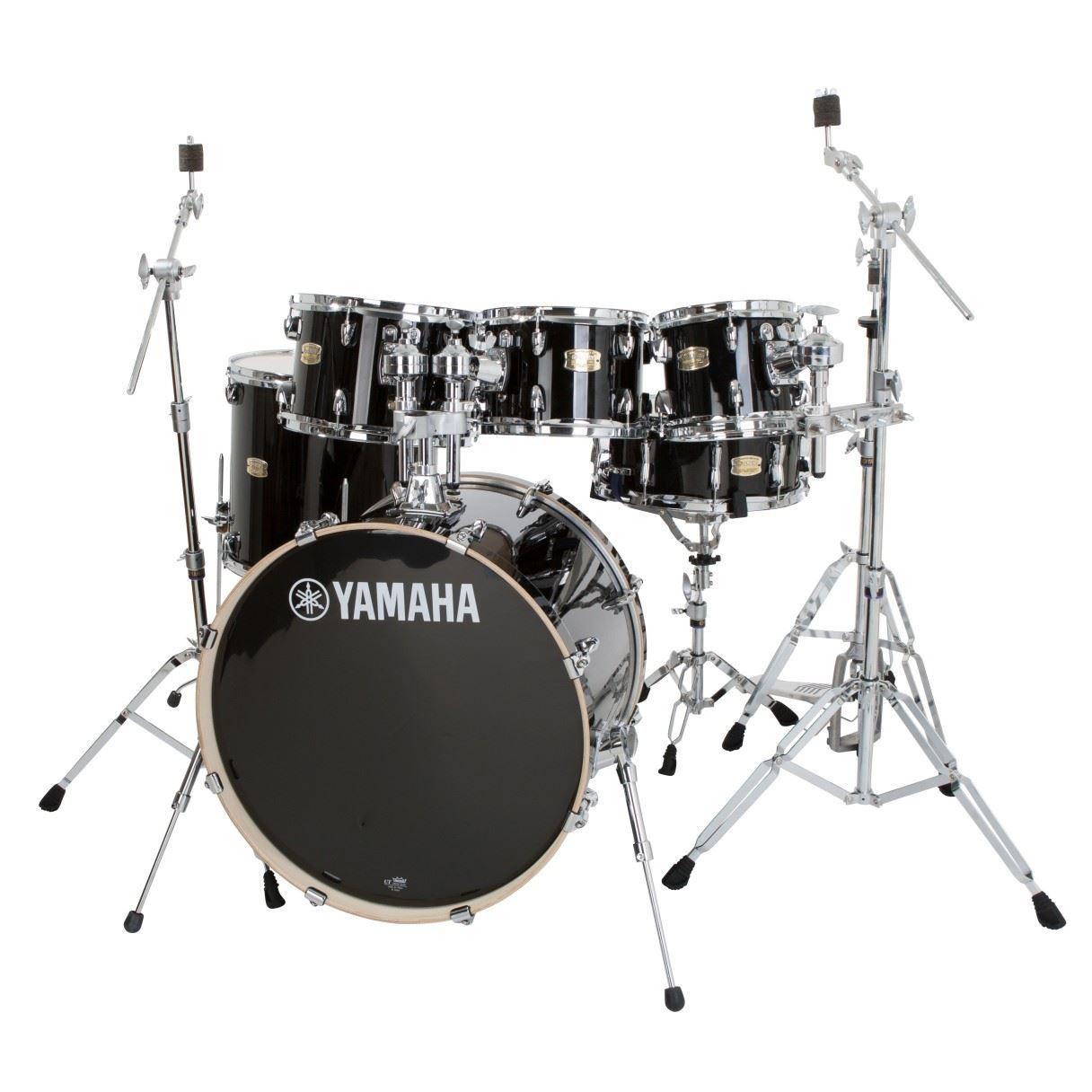 Yamaha Stage Custom Birch 5 Piece 22 Inch Euro Drum Kit With Bonus 8