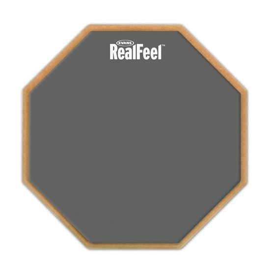 Evans RF6D RealFeel Practice Pad (Double Sided 6 Inch)