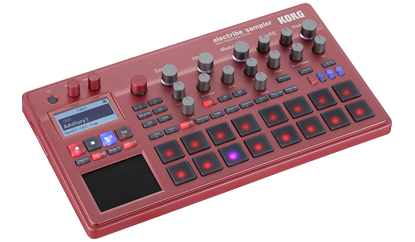 Korg Electribe Sampler Red - angle view