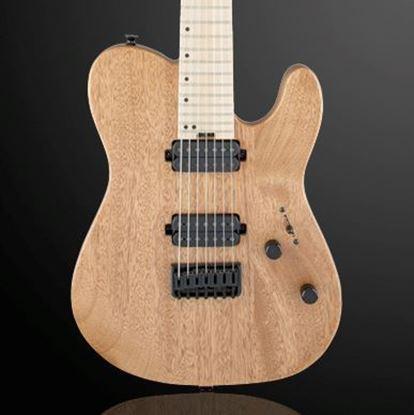 Charvel Pro Mod San Dimas Style 2-7, HH Hard Tail 7-String Electric Guitar Okoume