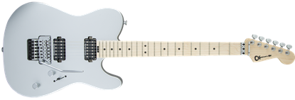 Charvel Pro Mod San Dimas Style 2 HH Floyd Rose Maple Neck Electric Guitar Satin Silver