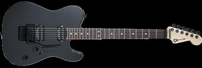 Charvel Pro Mod San Dimas Style 2 HH Floyd Rose Dark Neck Electric Guitar Metallic Black