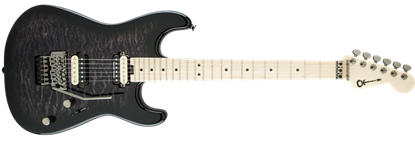 Charvel Pro Mod San Dimas Style 1 HH Floyd Rose Maple Neck Electric Guitar Black Grey Burst