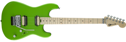 Charvel Pro Mod San Dimas Style 1 HH Floyd Rose Maple Neck Electric Guitar Slime Green