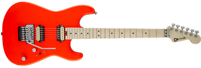 Charvel Pro Mod San Dimas Style 1 HH Floyd Rose Maple Neck Electric Guitar Rocket Red