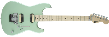 Charvel Pro Mod San Dimas Style 1 HH Floyd Rose Maple Neck Electric Guitar  Specific Ocean
