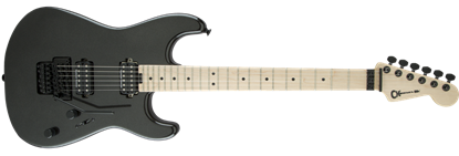 Charvel Pro Mod San Dimas Style 1 HH Floyd Rose Maple Neck Electric Guitar Metallic Black