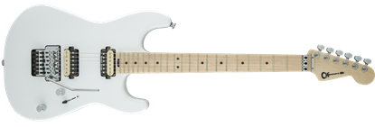 Charvel Pro Mod San Dimas Style 1 HH Floyd Rose Maple Neck Electric Guitar Snow White