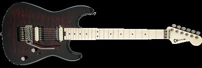 Charvel Pro Mod San Dimas Style 1 HH Floyd Rose Maple Neck Electric Guitar Transparent Red Burst