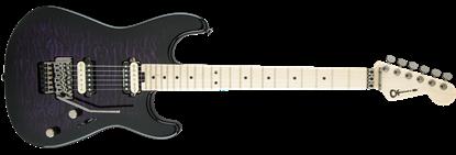 Charvel Pro Mod San Dimas Style 1 HH Floyd Rose Maple Neck Electric Guitar Transparent Purple Burst