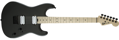 Charvel Pro Mod San Dimas Style 1 HH Dark Wood Electric Guitar Metallic Black