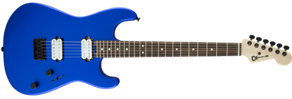 Charvel Pro Mod San Dimas Style 1 HH Dark Wood Electric Guitar Satin Cobalt Blue