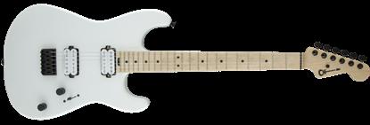 Charvel Pro Mod San Dimas Style 1 HH Dark Wood Electric Guitar Snow White