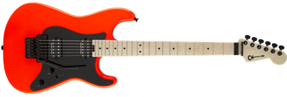 Charvel Pro Mod So-Cal Style 1 HH Floyd Rose Maple Neck Electric Guitar Rocket Red